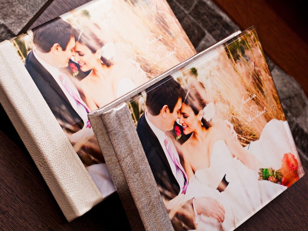 Custom Wedding Albums from Storybook Pages