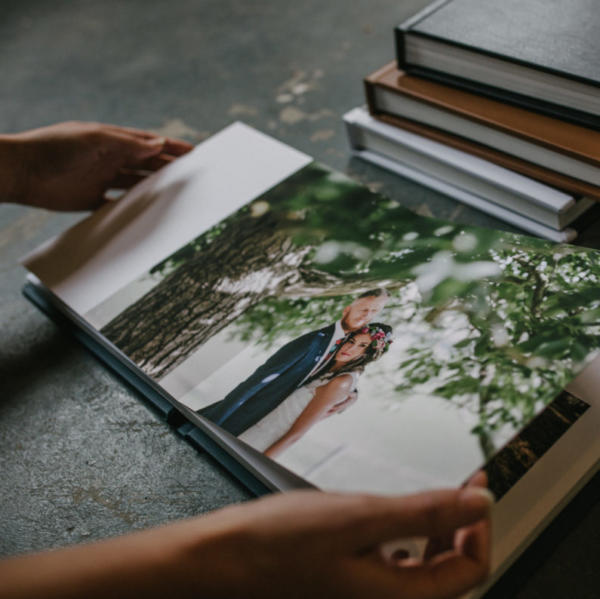 Vision Art flush mount wedding album