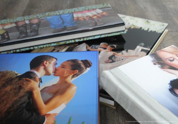 Finao wedding album with Ice Cover