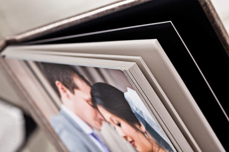 wedding albums by Album Crafters