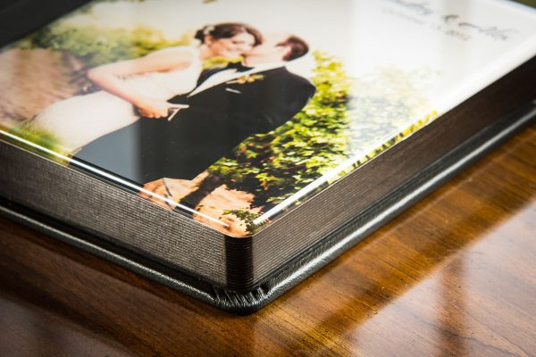 Zookbinders Flush Mount and Matted wedding Albums