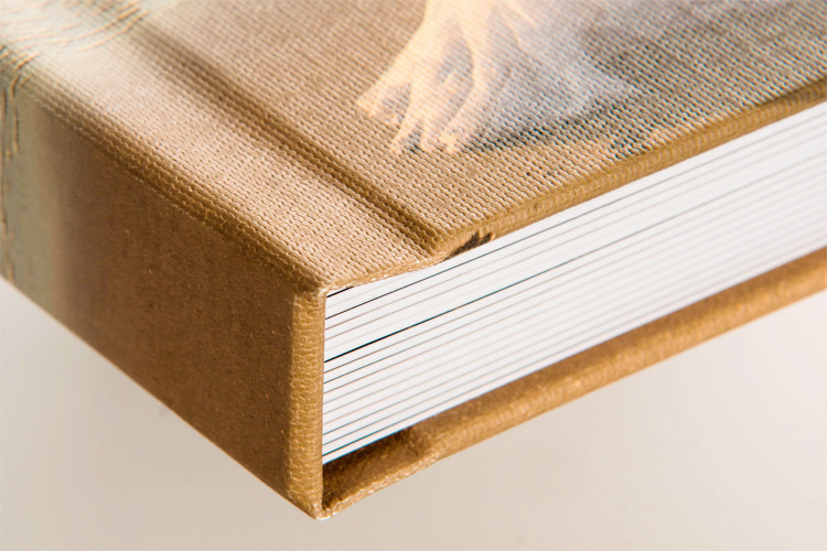 Zookbinders Lustre Book with Canvas Cover