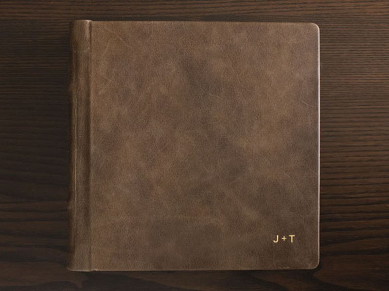 signature leather cover